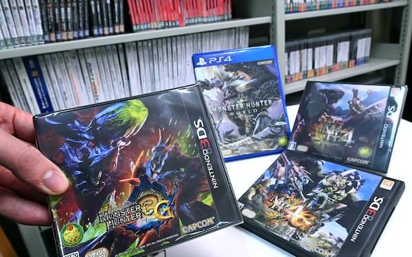 不正改造代行の被害にあったゲームソフトの一部(東京都文京区のACCS)