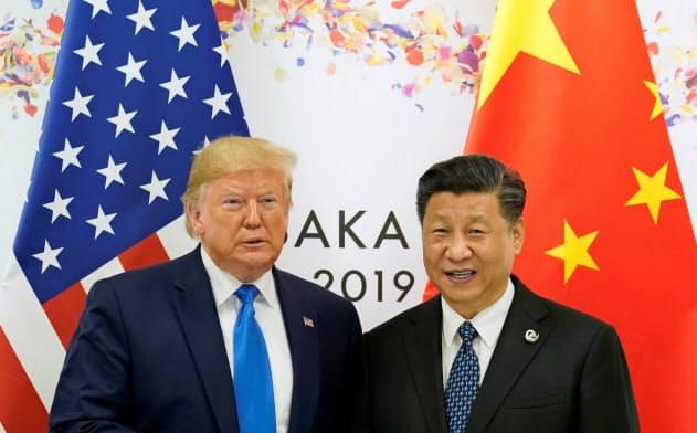 米中の貿易交渉は第1段階の合意に達した=ロイター