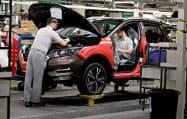 日産自動車は英北部サンダーランドに英国最大の工場を持つ=ロイター