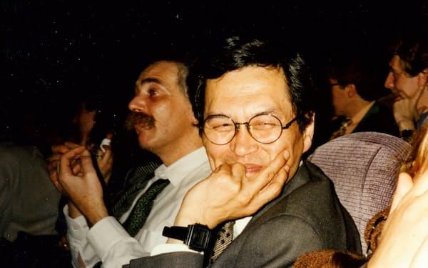 世界の映画人の信頼が厚く、ミニシアター文化を先導した柴田駿氏(1995年)