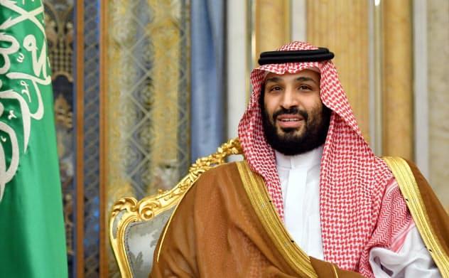 サウジアラムコの時価総額が2兆ドルを超えたことで面目を保ったムハンマド皇太子=ロイター