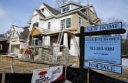 米住宅部門は好調で、建設業者の景況感は20年ぶり高水準となった=ロイター