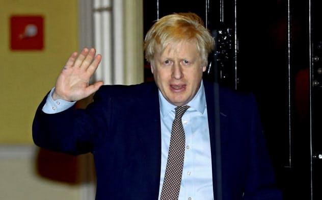 ジョンソン英首相はEU離脱後の米国との2国間FTAに意欲を見せる=ロイター