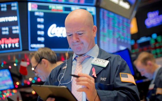 米国株は約3週間ぶりに最高値を更新=ロイター