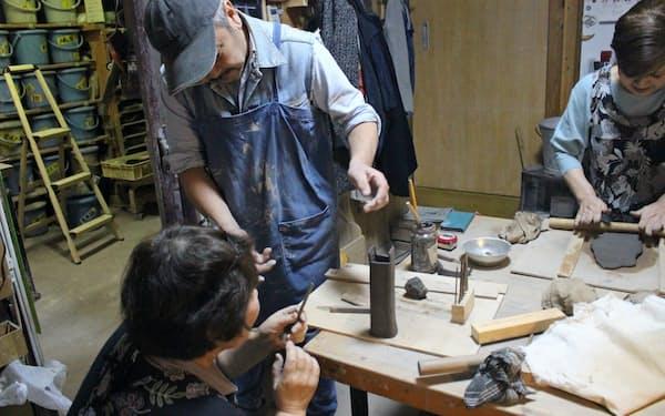 陶土が値上がりしている(川崎市にある陶芸教室)
