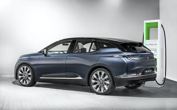 中国バイトンが20年に発売する電気自動車