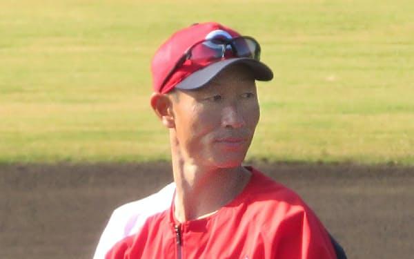 コーチとして再出発する広島の赤松真人