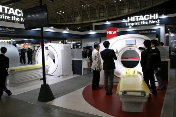 富士フイルムHDが買収する日立製作所の画像診断機器