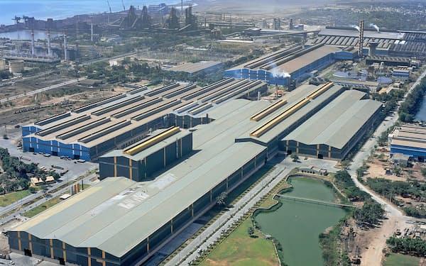 新日鉄とミタルが買収するエッサールはインド4位(印西部グジャラート州)