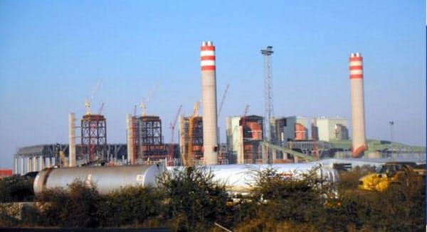 三菱重工側が事実上、減額に応じた(南アフリカのメデュピ発電所、2015年撮影)