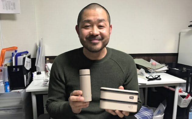 小林裕介社長はポケトルに「必要な分だけ」というブランド哲学を設定した
