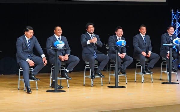 ラグビーワールドカップに出場した日本代表選手が登場した