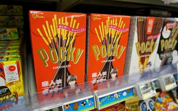 ブランド別評価で総合首位だった江崎グリコの「ポッキー」