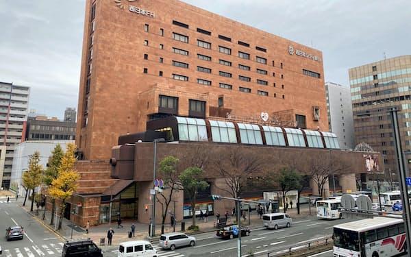 西日本シティ銀行はJR博多駅前の本店ビルを建て替える(福岡市)