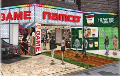 東京・池袋のサンシャイン60通り沿いにゲームセンターを開く(完成イメージ)