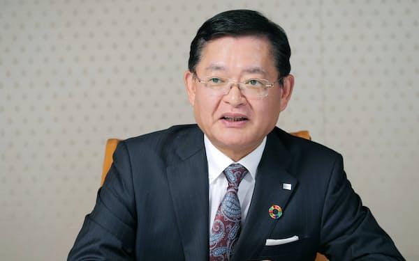 車谷暢昭 東芝会長兼CEO
