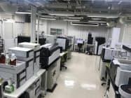 島津製作所の分析機器を使う