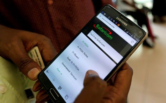 エムペサはアフリカ最大の決済サービスだ=ロイター