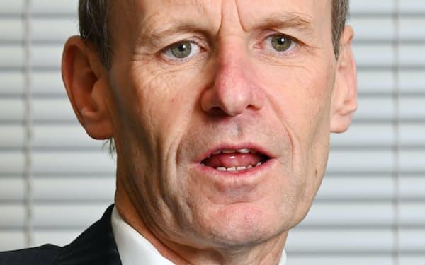 シェイン・エリオット オーストラリア・ニュージーランド銀行CEO
