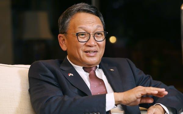アリフィン・タスリフ インドネシアのエネルギー鉱物資源大臣