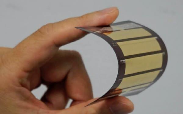 エネコートテクノロジーズの太陽電池
