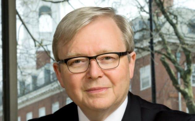Kevin Rudd 07~10年、13年にオーストラリア首相。外交官出身で、外相経験も持つ。流ちょうな中国語を話し、中国通として知られる。15年から現職。