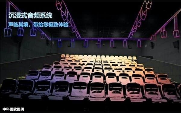 空間での音の分布を再現することで観客は現場と同じ体験をすることができる(中科雷欧提供)