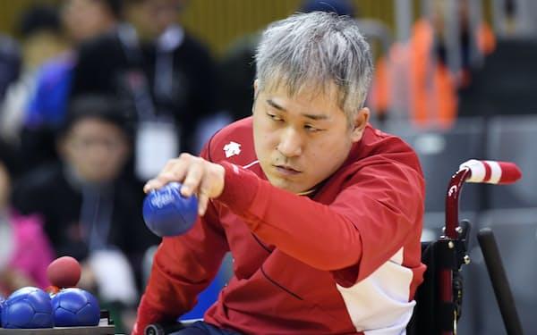 脳性まひBC2クラスで優勝し、東京パラリンピックの出場が内定した広瀬隆喜