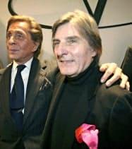 エマニュエル・ウンガロ氏(右)(2008年1月)=AP