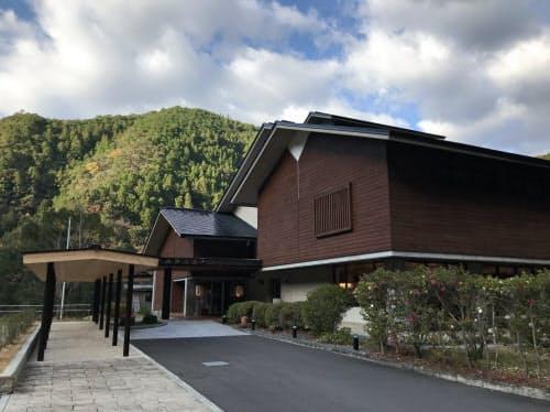 十津川村には3つの温泉地がある(十津川温泉のホテル昴)