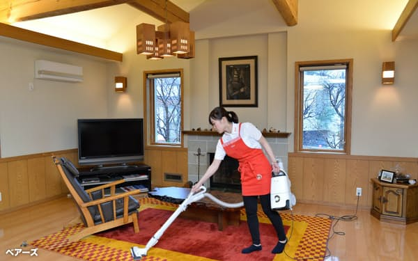 家事代行サービスは利用者の単価が上昇する傾向にある(ベアーズ提供)