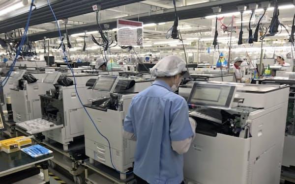 リコーはA3複合機を製造する国内外の5拠点で電力を再生エネ100%に切り替え(タイの工場)