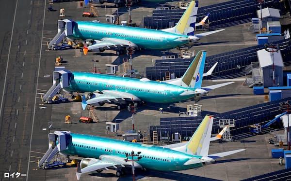 737MAXは3月半ばから運航と出荷が止まっている=ロイター
