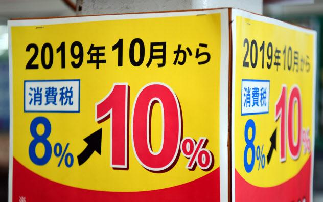 消費増税を知らせる張り紙