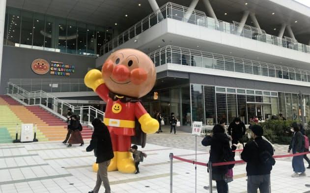 人気を集める横浜アンパンマンこどもミュージアム(2019年にリニューアル)