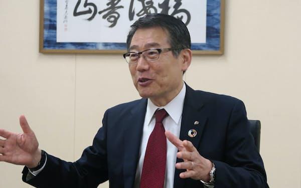 セブン―イレブン・ジャパンの永松文彦社長