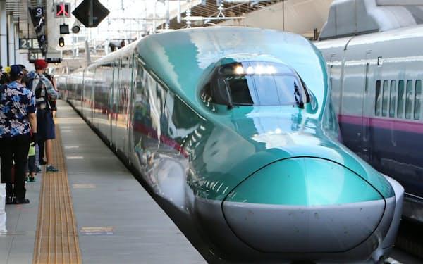 札幌延伸時は「4時間半の壁」をクリアできるかが競争力を左右しそうだ(JR東京駅)