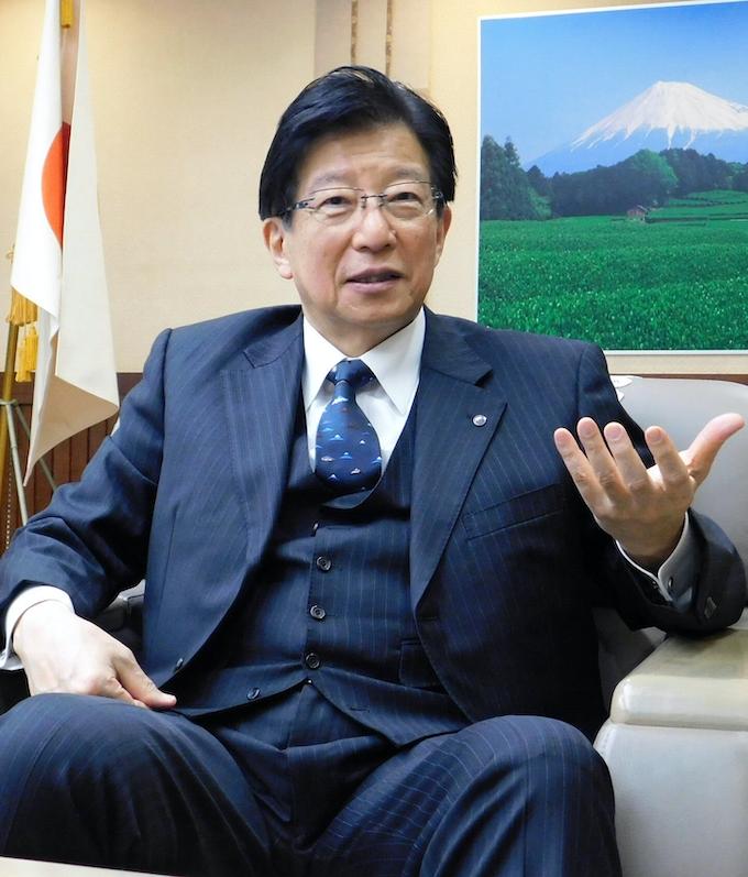 川勝 静岡 県 知事