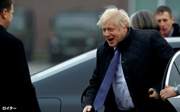 ジョンソン英首相は、EUとの貿易協定については期限内には最低限のものしか交渉することはできないだろうとみられている=ロイター