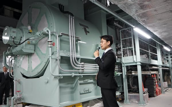 北海道ガスの電力販売は東名阪の大手に次ぐ規模(札幌市の地下発電所)