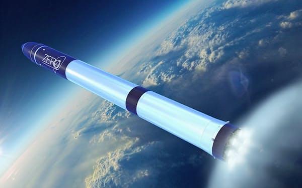 インターステラが2023年の打ち上げを目指す2段式ロケット「ゼロ」(写真はイメージ)