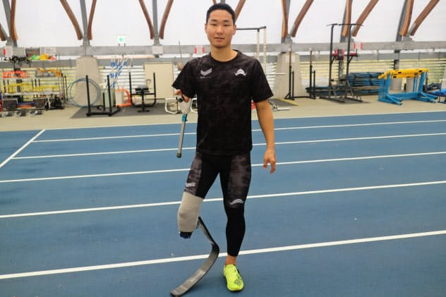 東京パラリンピックの陸上種目の100メートルと走幅跳への出場を狙う池田樹生選手