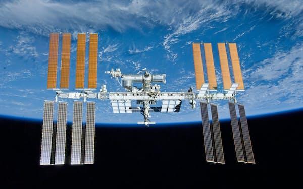 国際宇宙ステーションは2025年以降の運用方針が決まっていない(JAXA・NASA提供)