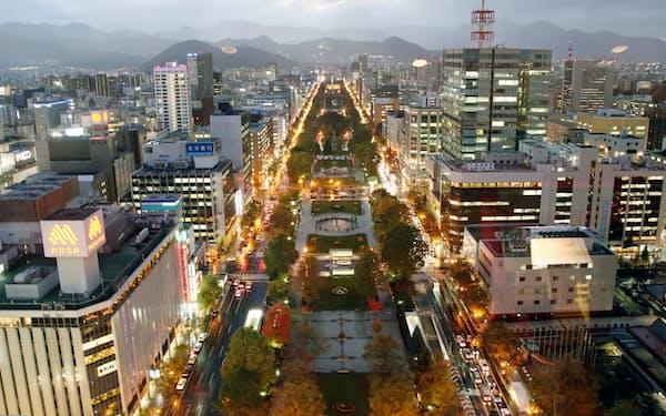 札幌市中央区の大通公園