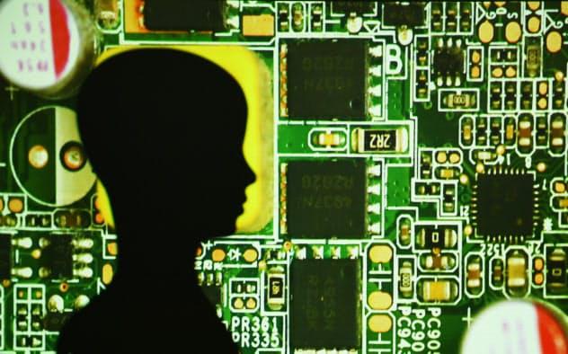 デジタル時代にイノベーションを起こせる人材が求められている(人工知能のイメージ)