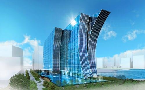 リゾートトラストが20年夏に開業する「横浜ベイコート倶楽部 ホテル&スパリゾート」