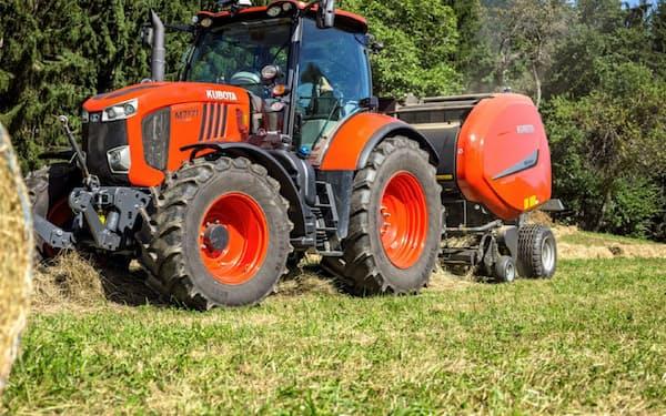欧米など海外での農機の受注状況を日本で素早く把握できるようにする