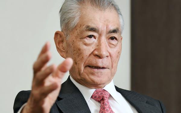 本庶佑・神戸医療産業都市推進機構理事長