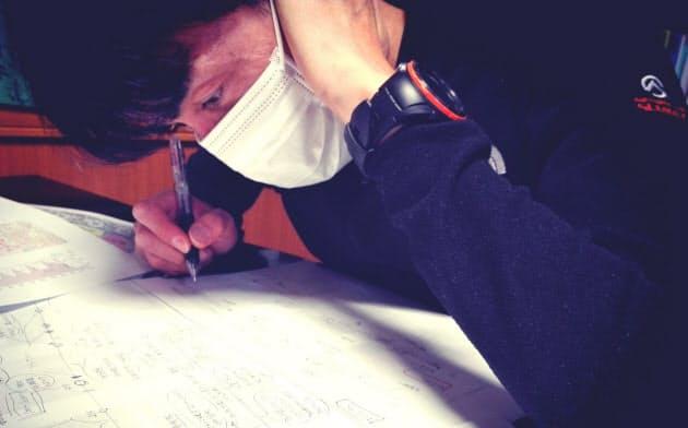 慣れない執筆活動は受験勉強さながら