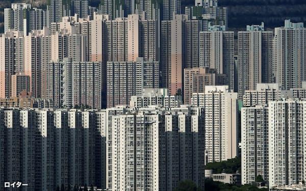 香港では住宅不足が深刻だ=ロイター